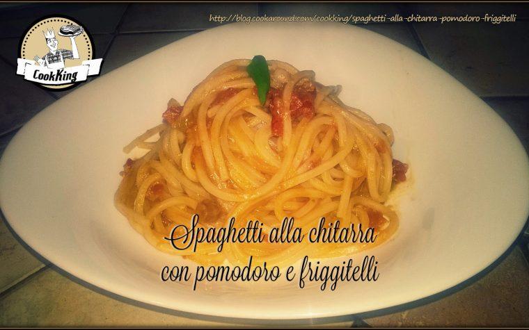 Spaghetti alla chitarra con pomodoro e friggitelli
