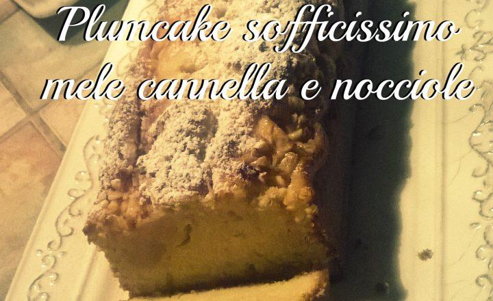 PLUMCAKE SOFFICISSIMO MELE, CANNELLA E NOCCIOLE