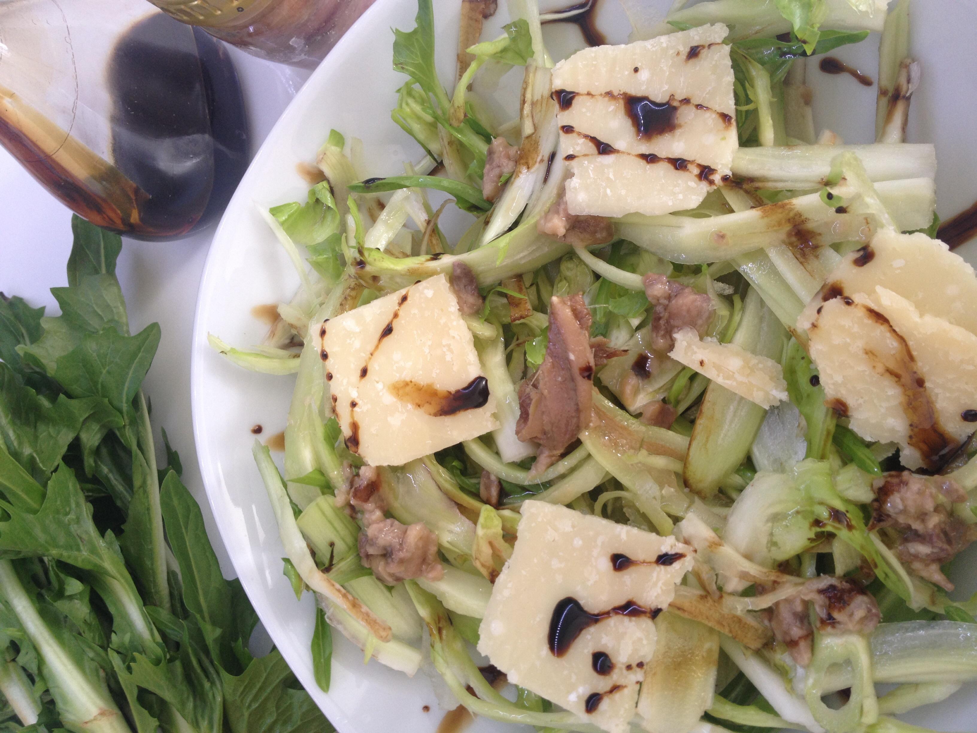 Puntarelle in insalata