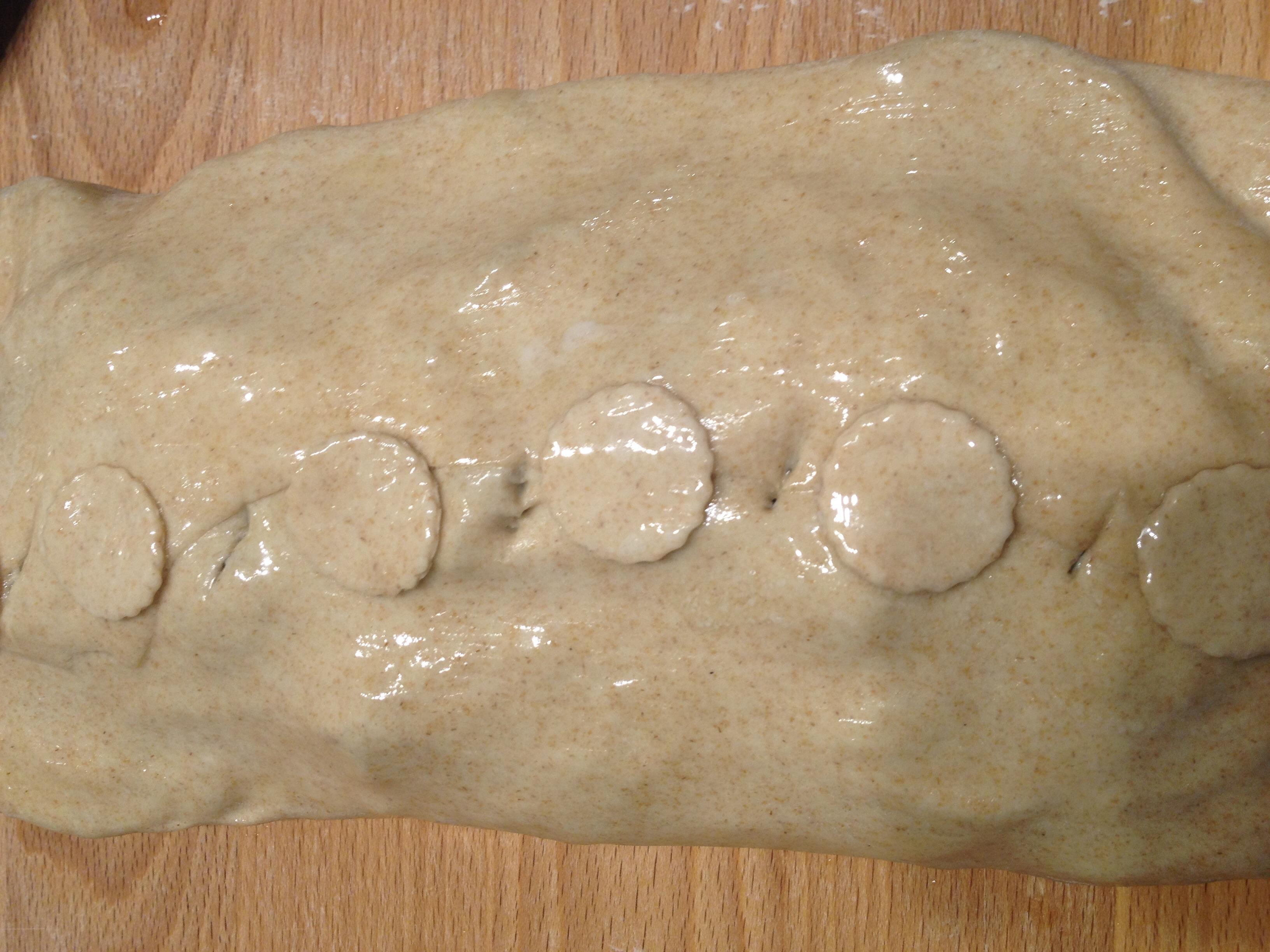 Strudel integrale salato
