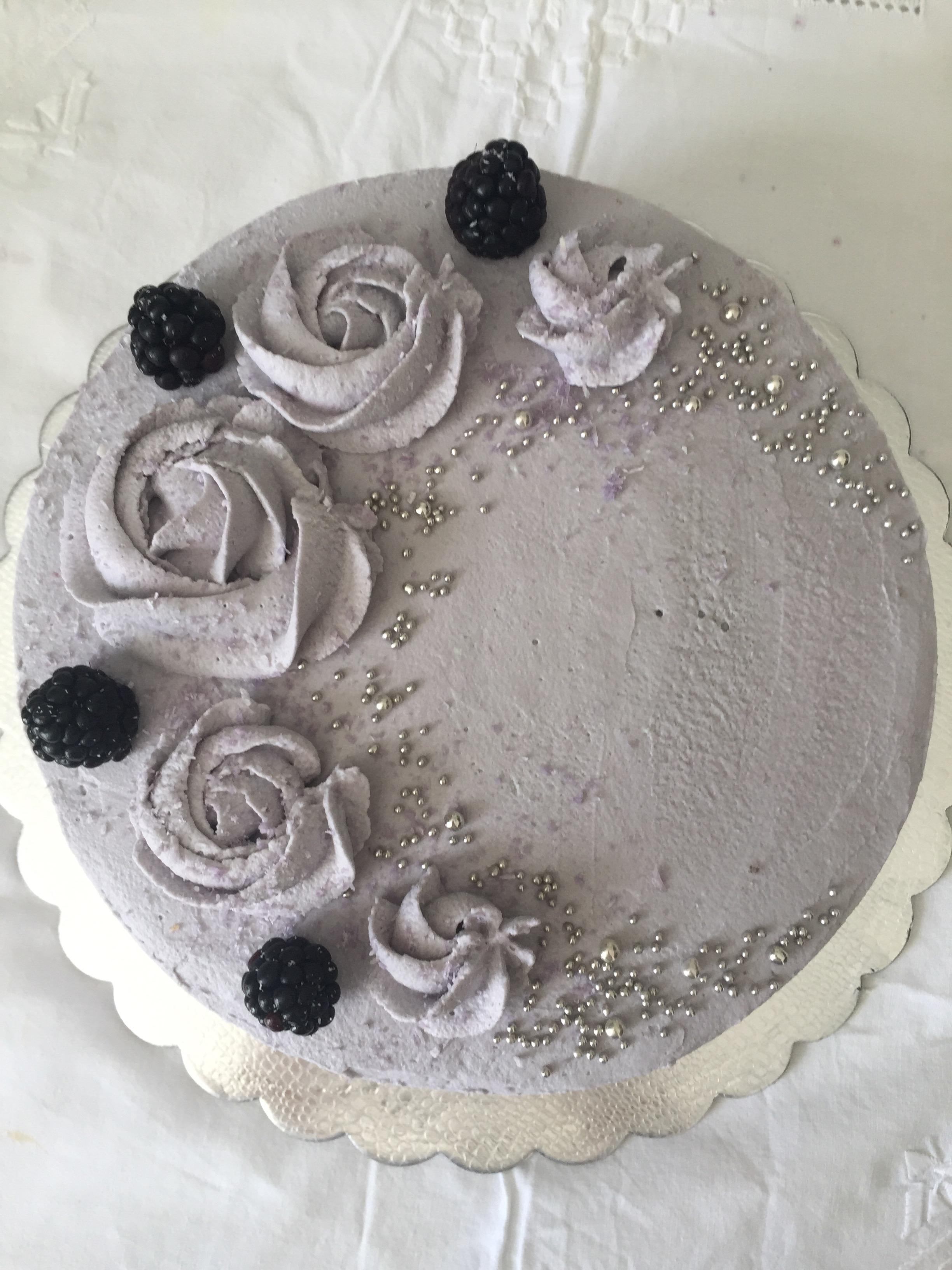 Torta panna e more   Blog di cucinachepassione