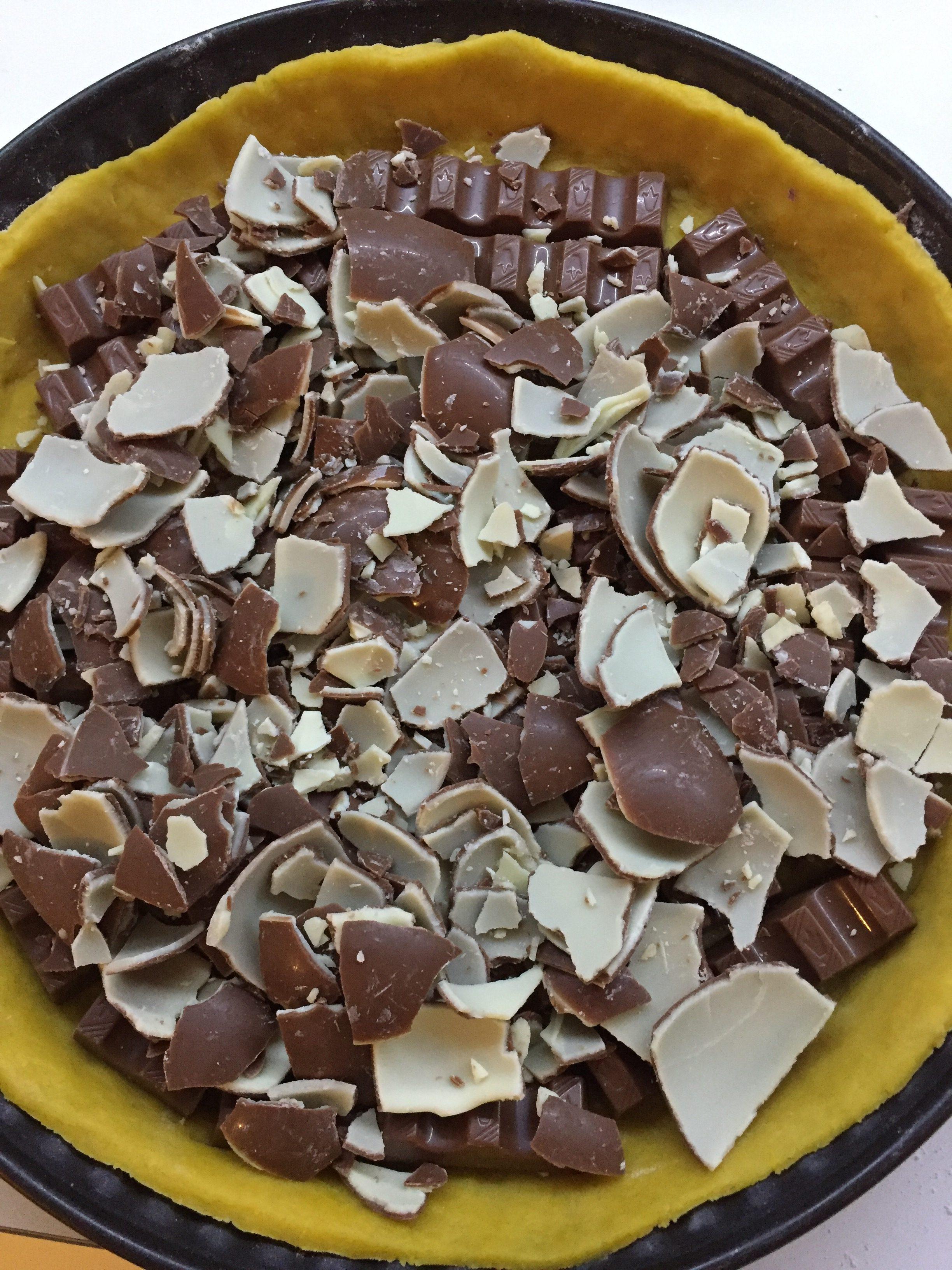 Ricette Uovo Kinder Avanzato.Crostata Con Kinder Blog Di Cucinachepassione
