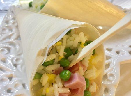Riso alla cantonese ricetta light