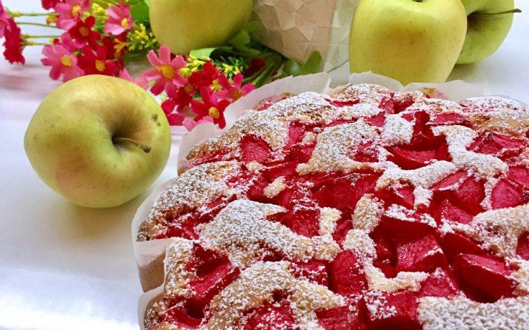 Torta di mele e alchermes