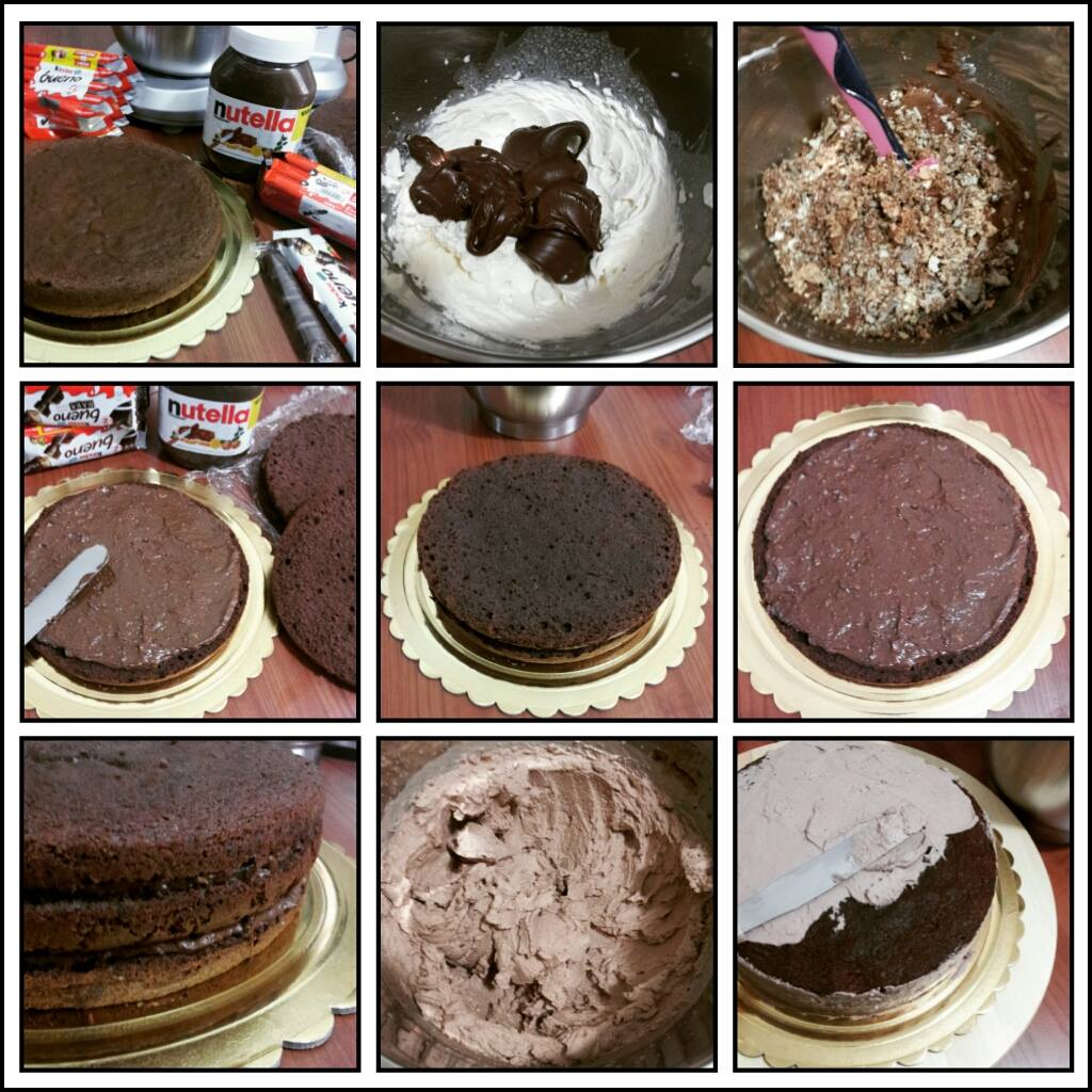Torta Kinder Bueno | Cucinare è come amare