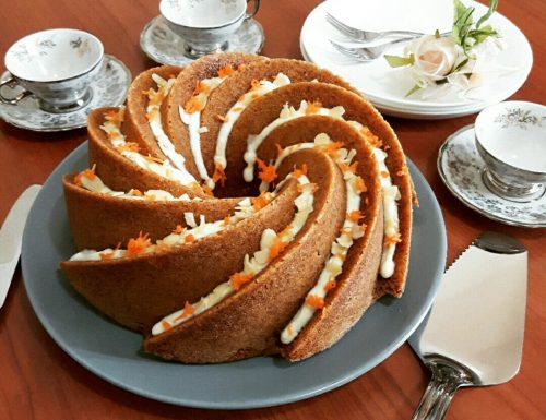 Almond&Carrot Bundt Cake
