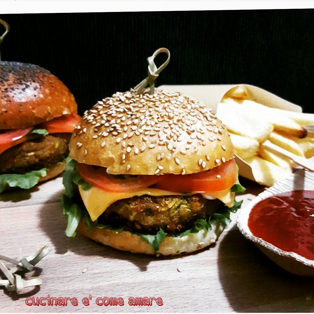 Veggie burger burger vegetariano cucinare come amare for Cucinare vegetariano