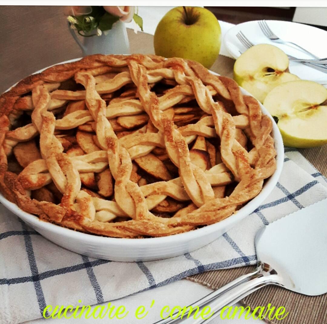 Apple pie cucinare come amare for Cucinare nei vari dialetti italiani