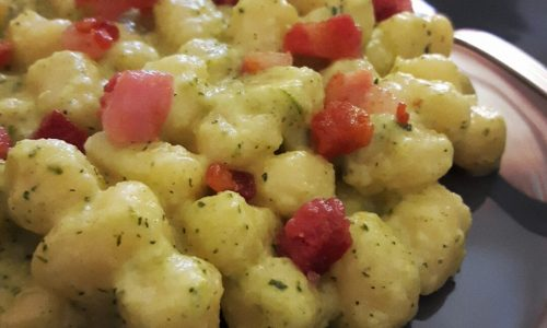 Gnocchi Senza Glutine con Crema di Zucchine