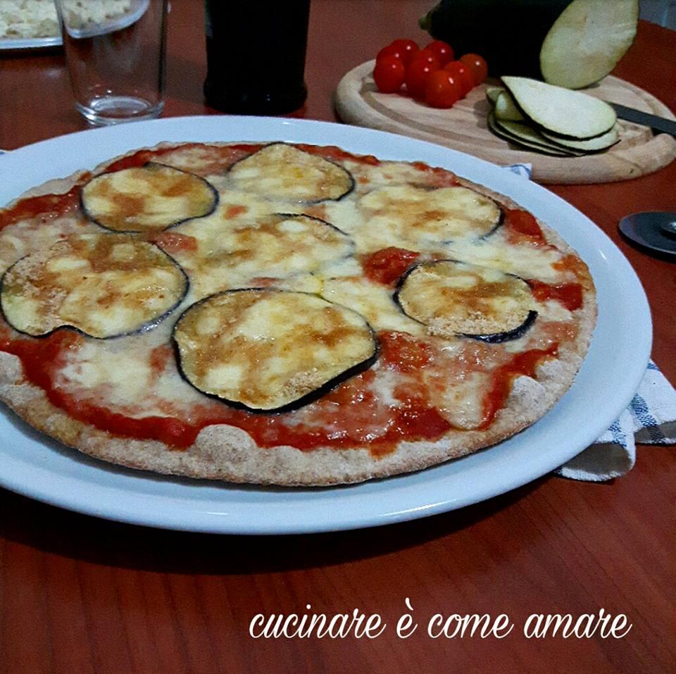 Pizza integrale alla parmigiana cucinare come amare for Cucinare e congelare