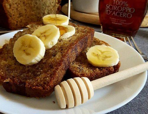 Maple Syrup apple & banana bread