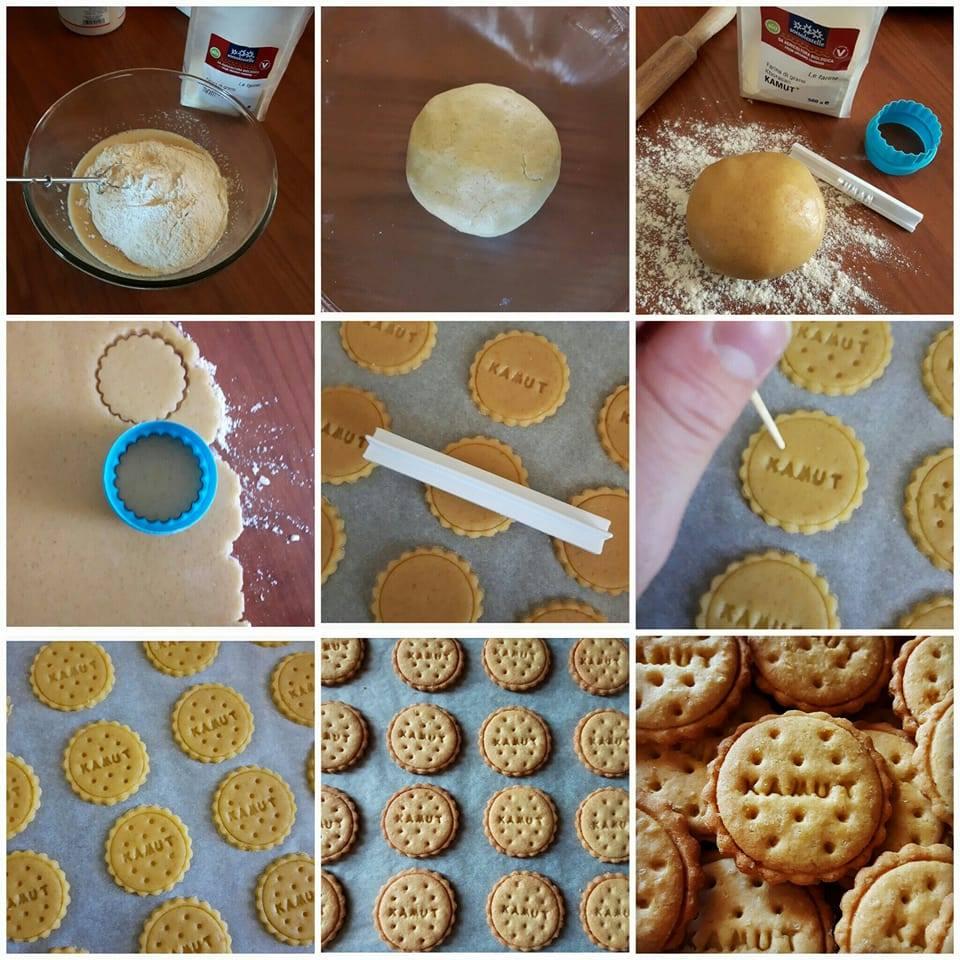 spesso Biscotti di kamut con zucchero di canna | Cucinare è come amare OU59