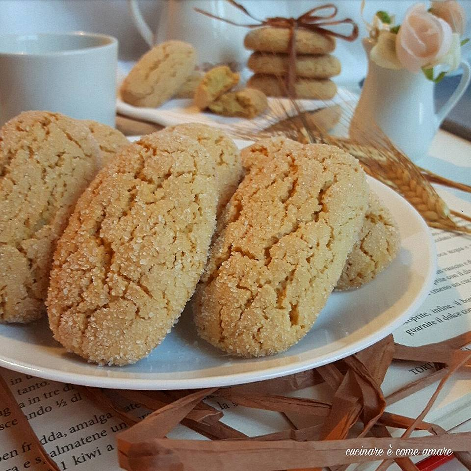 biscotti inzupposi con farina di farro cucinare come amare