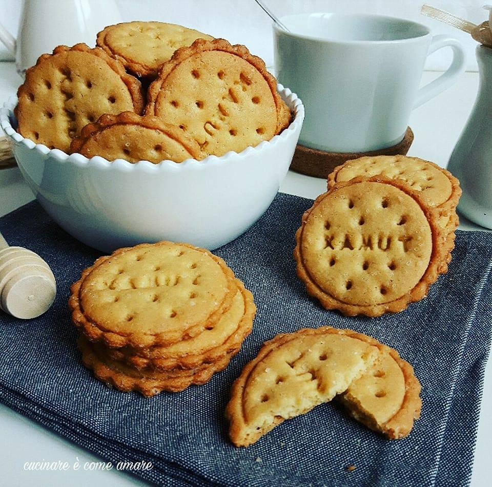 Molto Biscotti di kamut con zucchero di canna | Cucinare è come amare WE25