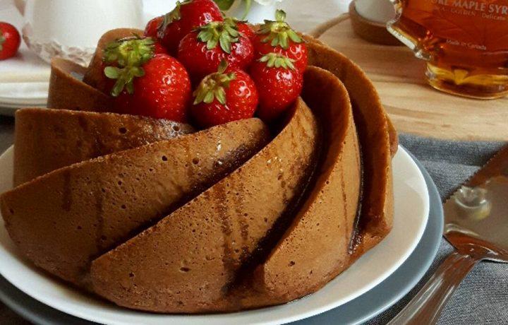 Maple Bundt Cake con zucchero di canna