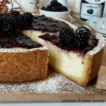 CROSTATA CHEESECAKE con ricotta e more
