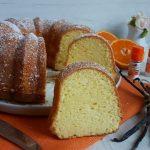 Ciambella chiffon alla vaniglia e arancia