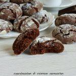 Biscotti al cioccolato morbidi e golosi
