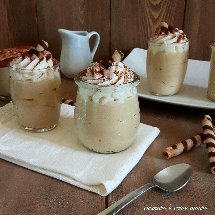 Mousse Al Caffe Con Panna E Yogurt Greco Cucinare E Come Amare