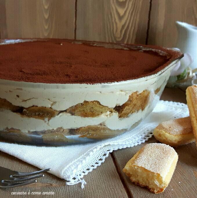 Ricetta Tiramisu Con 250g Di Mascarpone.Tiramisu Con Crema Al Mascarpone Senza Uova Cucinare E Come Amare