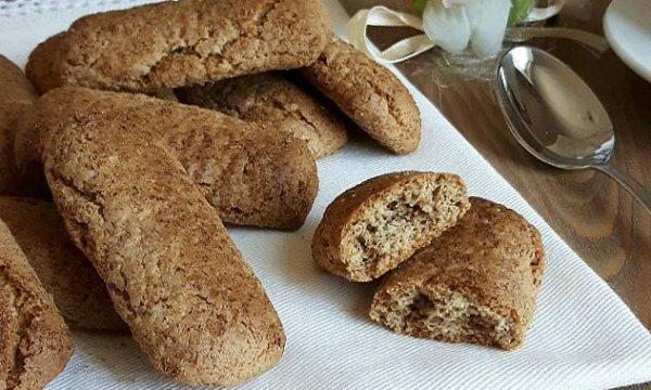 BISCOTTI RUSTICI con farina integrale senza burro