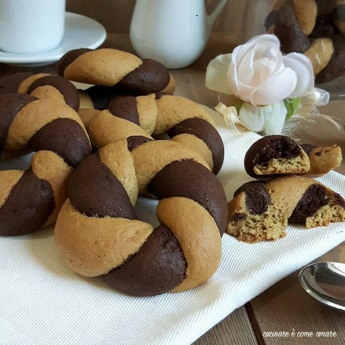 ciambelline biscotto bigusto con farina integrale senza burro