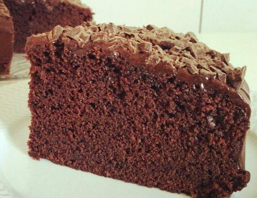 TORTA FAVOLOSA al cioccolato con ganache