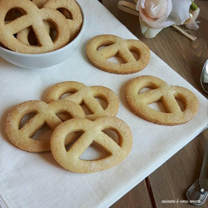 biscotto danese al burro con pasta frolla friabilissima