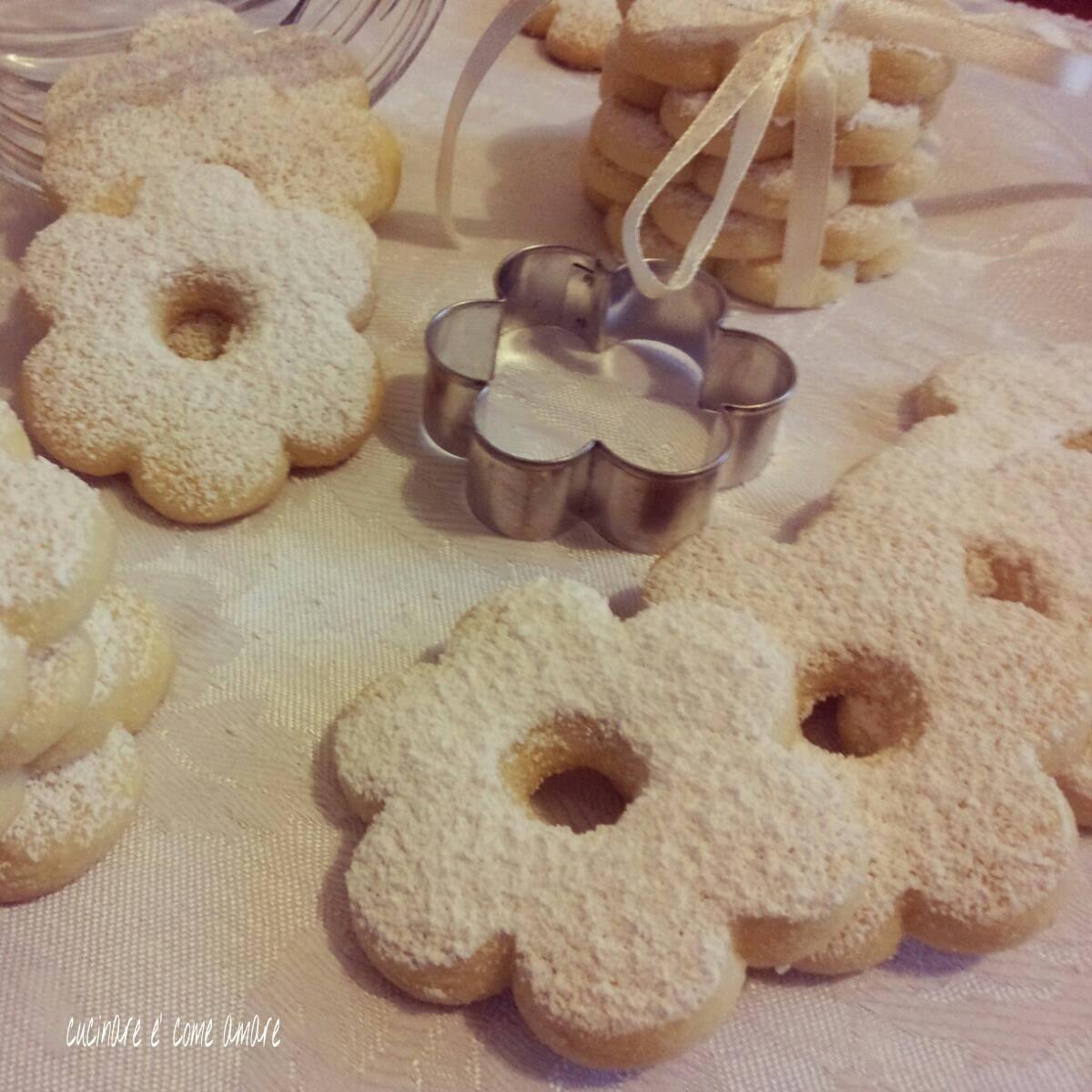 biscotto da te friabile al burro