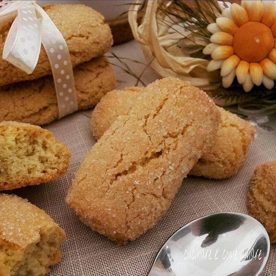 biscotto inzuppo con farina di semola senza burro