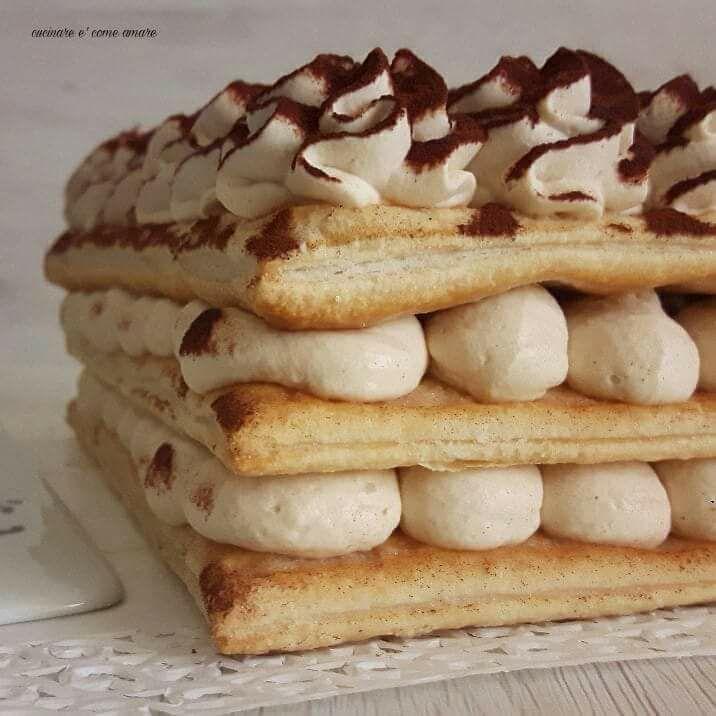 Torta Sfoglia Senza Cottura Con Crema Mascarpone Cucinare è Come Amare