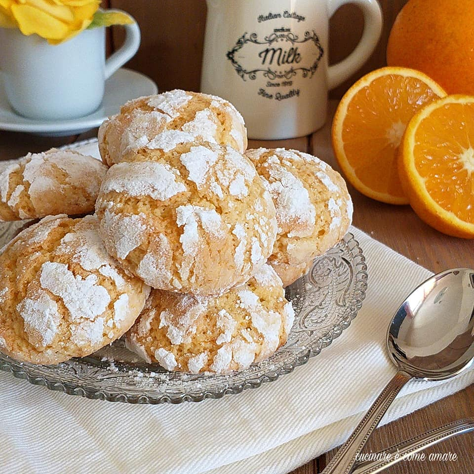 biscotto all'arancia morbido