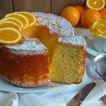 TORTA CHIFFON CAKE all'arancia