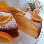 TORTA NUVOLONA all'arancia con crema