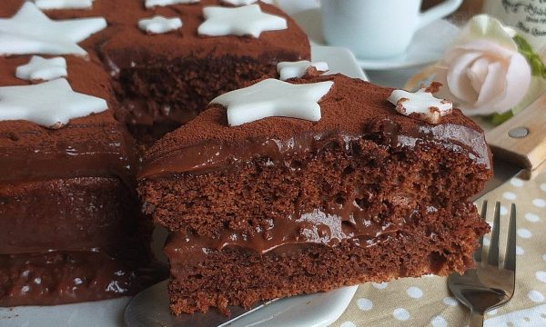 TORTA PAN STELLE nutella e cacao