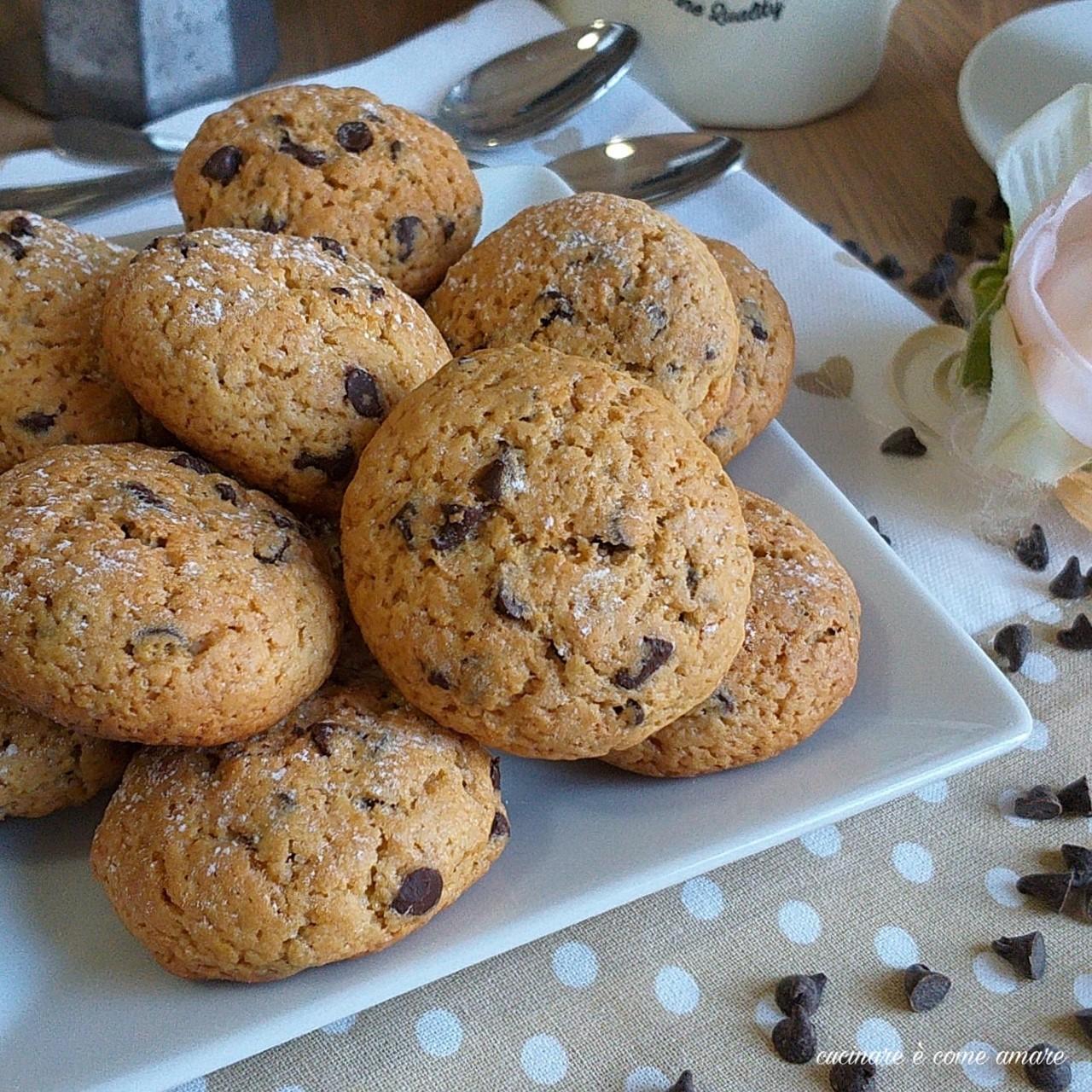 biscotto allo yogurt caffè e cioccolato