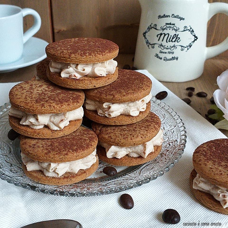 biscotto cappuccino con crema mascarpone