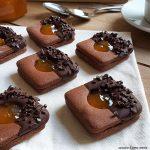 BISCOTTO SACHER cioccolato e marmellata