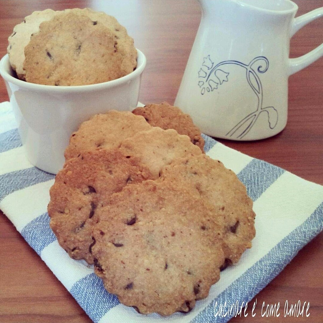 biscotto velocissimo burro e cioccolato