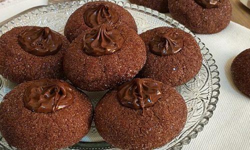 BISCOTTO VULCANO cacao e nutella