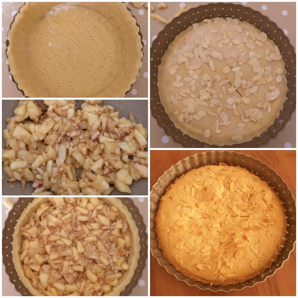 torta autunno di frolla