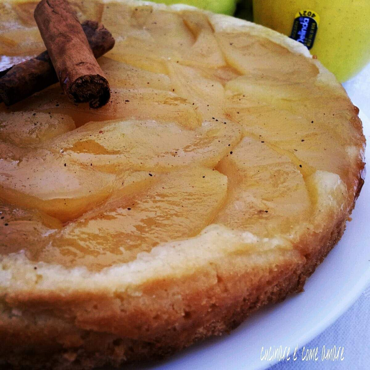 torta capovolta alle mele