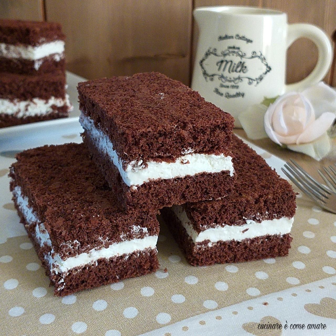torta merenda cacao e panna