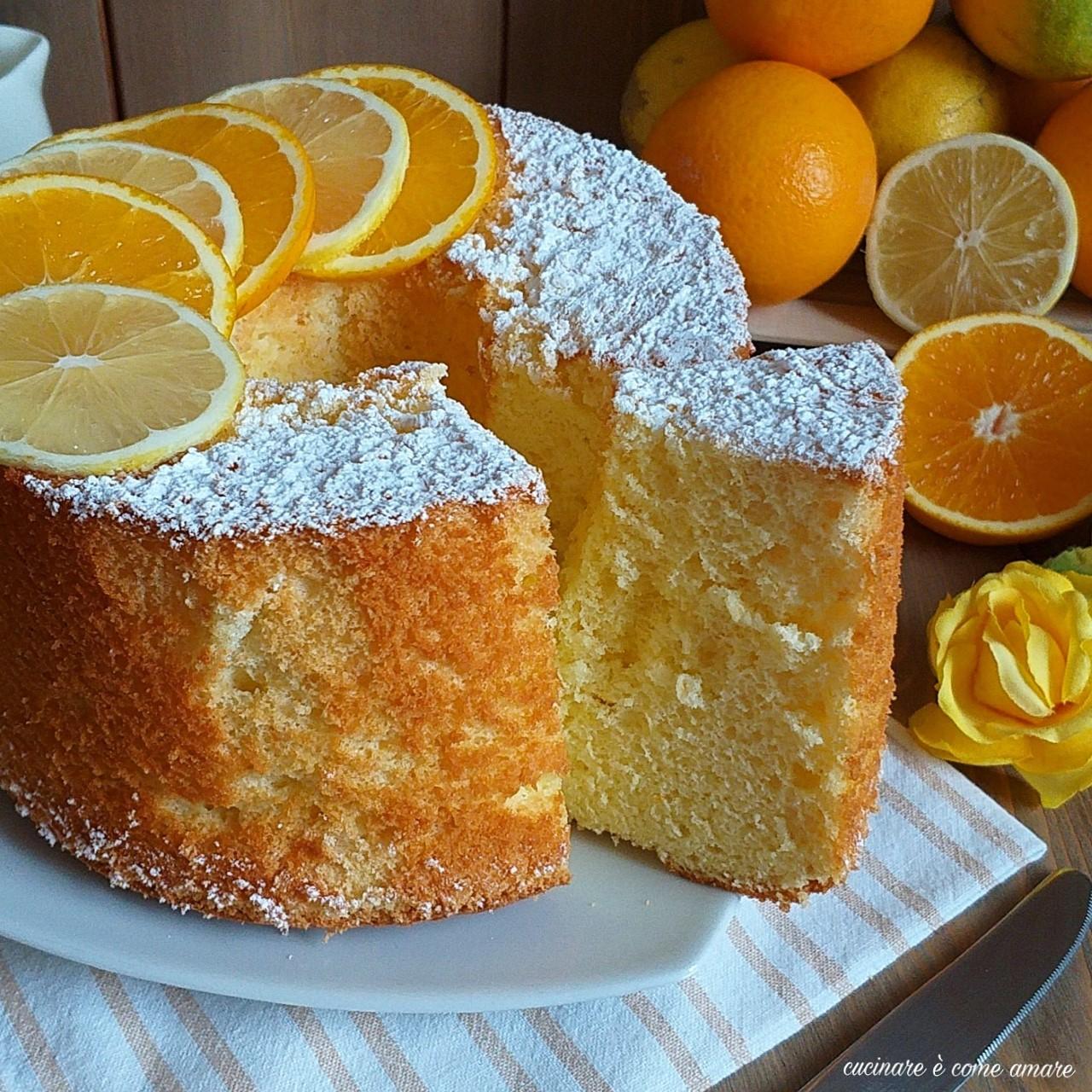 torta nuvola arancia e limone