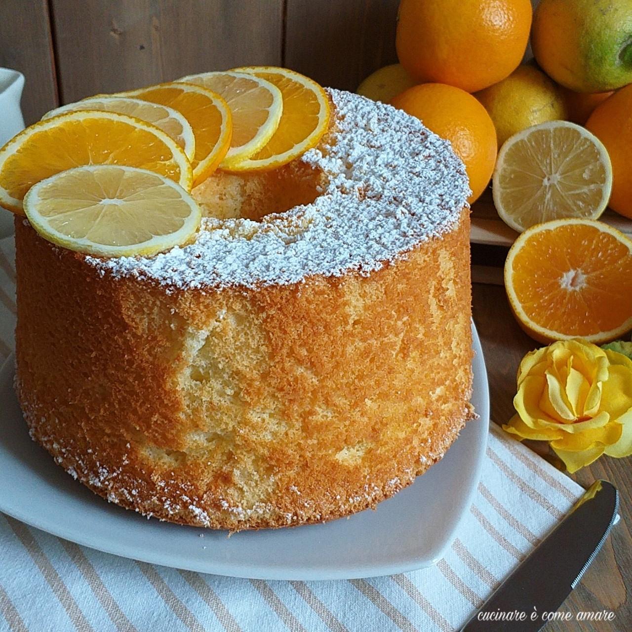 torta nuvola arancia