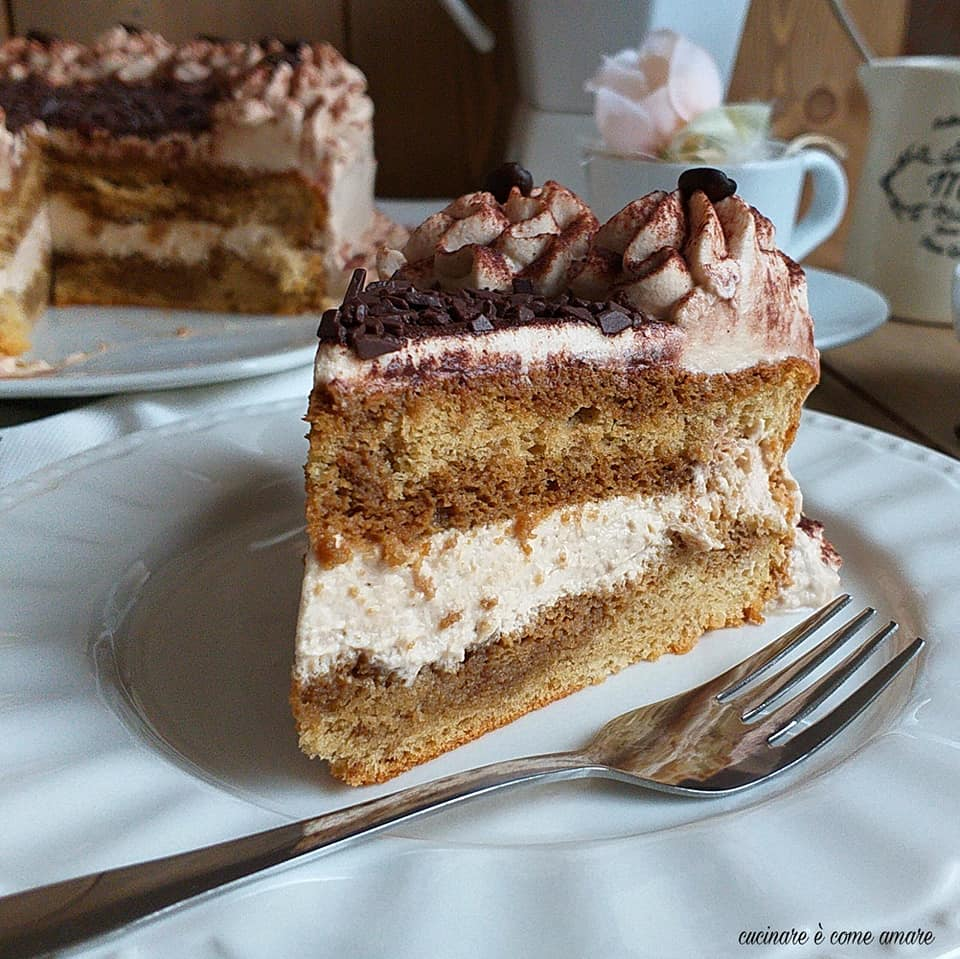 Torta Tiramisu Mascarpone E Panna Cucinare è Come Amare