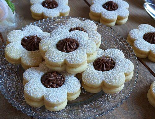 BISCOTTO CANESTRELLI con nutella
