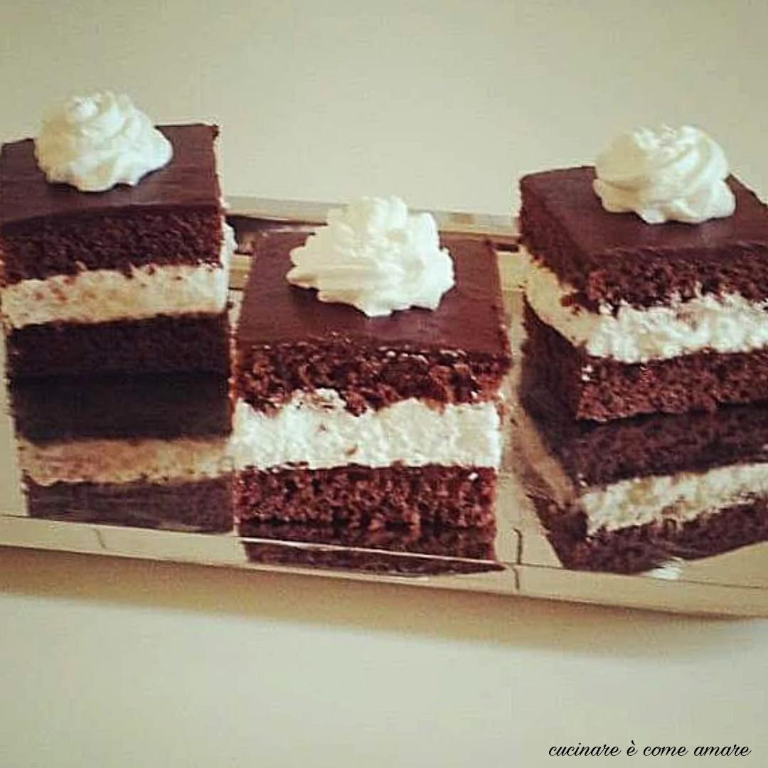 torta pinguino panna e nutella