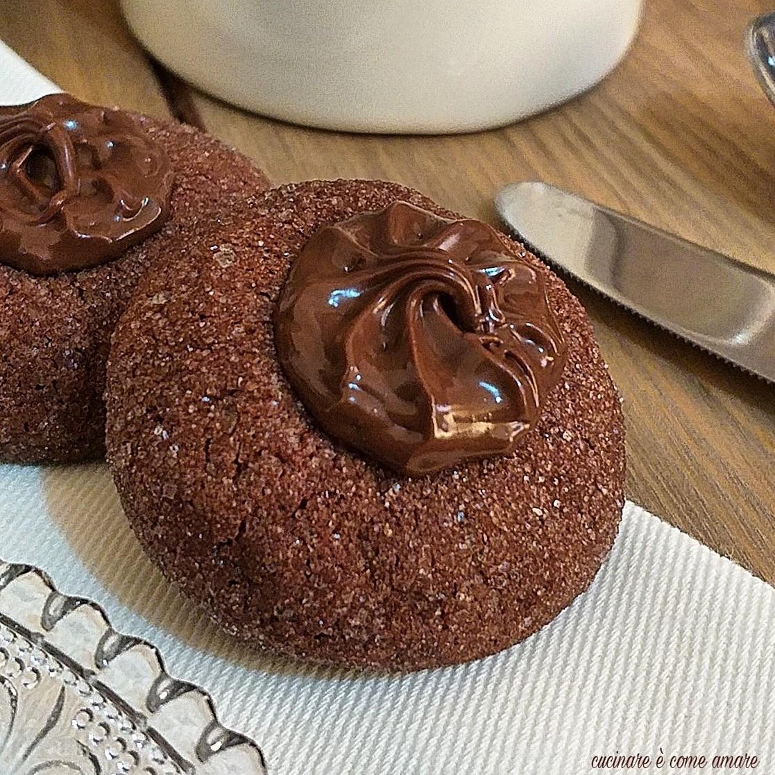 Biscotto 5 minuti cacao e nutella cucinare come amare for Cucinare 5 minuti