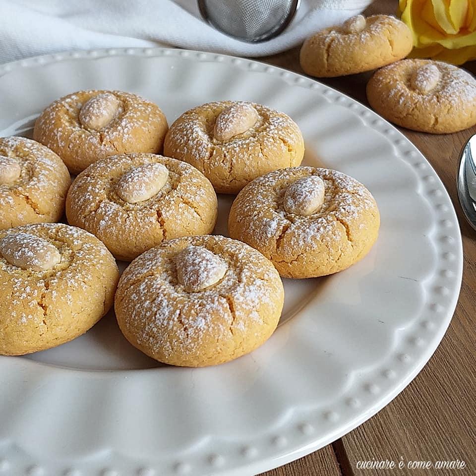 biscotto amor polenta limone mandorla